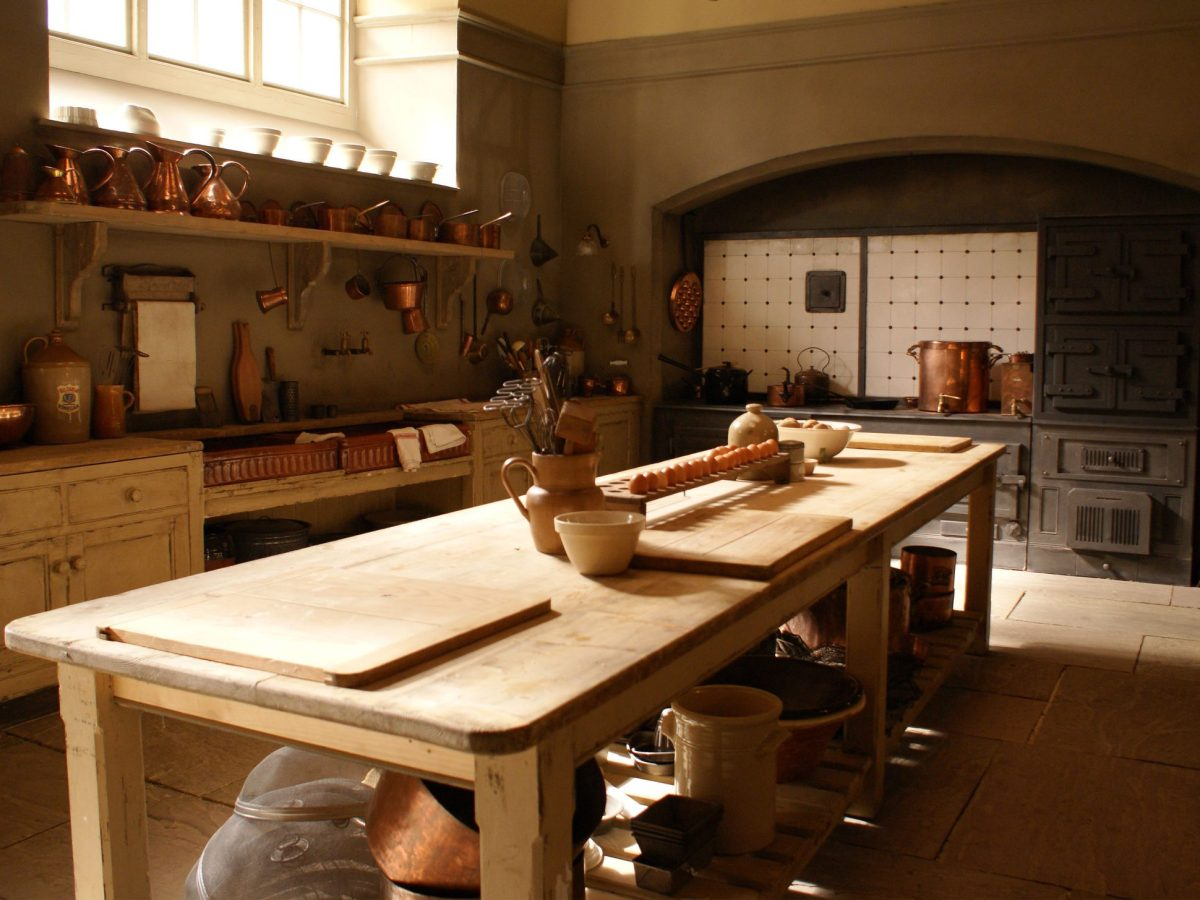 kitchen island from Downtown Abbey